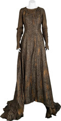 Movie/TV Memorabilia:Costumes, Camelot Screen-Worn Regal Court Ball Gown....