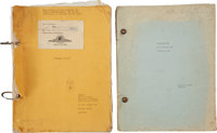 The Wizard of Oz Original Shooting Script Signed by Script Clerk Wallace Worsley, Plus Production Break