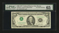 Error Notes:Inverted Third Printings, Fr. 2168-A $100 1977 Federal Reserve Note. PMG Gem Uncirculated65.. ...