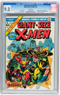 Giant-Size X-Men #1 (Marvel, 1975) CGC NM- 9.2 White pages