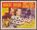 """Movie Posters:Crime, Rogue Cop (MGM, 1954). Lobby Card Set of 8 (11"""" X 14""""). Crime.. ...(Total: 8 Items)"""
