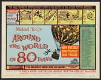 "Around the World in 80 Days (United Artists, 1958). Lobby Card Set of 8 (11"" X 14""). Adventure. ... (Total: 8..."