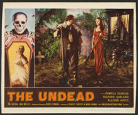 """The Undead Lot (American International, 1957). Lobby Cards (5) (11"""" X 13.25"""") and (11"""" X 14""""). Horro..."""
