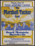 Music Memorabilia:Posters, Marshall Tucker Band Tulsa Assembly Center Concert Poster(1974)....