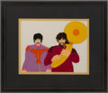 Music Memorabilia:Original Art, The Beatles Yellow Submarine Animation Cel....