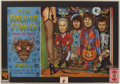 Music Memorabilia:Posters, Rolling Stones Trick or Treat 1994 Concert Poster with BackstagePasses.... (Total: 3 Items)