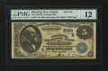 National Bank Notes:West Virginia, Wheeling, WV - $5 1882 Value Back Fr. 574 The National ExchangeBank Ch. # (S)5164. ...