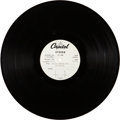 Music Memorabilia:Recordings, The Beatles Magical Mystery Tour Stereo LP Acetate (CapitolST 2835, 1967)....