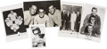 Music Memorabilia:Memorabilia, Buddy Holly Postcards and Fan Club Card.... (Total: 5 Items)