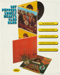 Music Memorabilia:Posters, The Beatles Sgt. Pepper's Lonely Hearts Club Band PromoPoster (Capitol, 1967)....