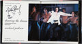 Music Memorabilia:Autographs and Signed Items, Michael Jackson Signed Copy of Dancing the Dream....
