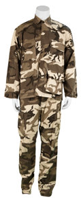 Movie/TV Memorabilia:Costumes, V For Vendetta Screen-Worn Military Uniforms.... (Total: 4Items)