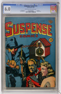 Golden Age (1938-1955):Horror, Suspense Comics #12 (Continental Magazines, 1946) CGC FN 6.0 Lighttan to off-white pages....