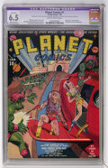 Golden Age (1938-1955):Science Fiction, Planet Comics #1 (Fiction House, 1940) CGC Apparent FN+ 6.5Moderate (P) Slightly brittle pages....