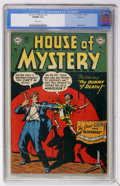 "Golden Age (1938-1955):Horror, House of Mystery #3 Spokane pedigree (DC, 1952) CGC VF/NM 9.0 Whitepages. Decades before Chucky of ""Child's Play"" came alon..."