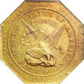 Territorial Gold, 1852 $50 Assay Office Fifty Dollar, 887 Thous. MS62 NGC....