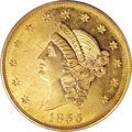 Territorial Gold, 1855 $50 Kellogg & Co. Fifty Dollar PR63 PCGS....