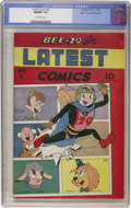 Golden Age (1938-1955):Funny Animal, Latest Comics #2 Mile High pedigree (Spotlight/Palace, 1945) CGCNM/MT 9.8 Off-white pages....