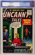 Golden Age (1938-1955):Horror, Uncanny Tales #32 Northford pedigree (Atlas, 1955) CGC NM- 9.2 Off-white to white pages....