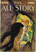 """Pulps:Miscellaneous, All-Story Magazine """"The Cave Girl"""" Group (Munsey, 1913) Condition: Average VG.... (Total: 4 Items)"""