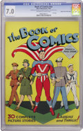 Golden Age (1938-1955):Superhero, Book of Comics #nn Mile High pedigree (Wise Publications, 1944) CGC FN/VF 7.0 Off-white to white pages....