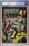 Golden Age (1938-1955):Crime, Punch Comics #18 (Chesler, 1946) CGC VF 8.0 Cream to off-white pages....