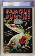 Golden Age (1938-1955):Science Fiction, Famous Funnies #212 (Eastern Color, 1954) CGC VF+ 8.5 Cream tooff-white pages....