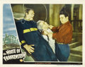 """Movie Posters:Horror, House of Frankenstein (Universal, 1944). Lobby Card (11"""" X 14""""). ..."""