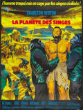 "Movie Posters:Science Fiction, Planet of the Apes (20th Century Fox, 1968). French Grande (47"" X63""). ...."