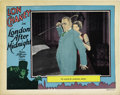 "Movie Posters:Horror, London After Midnight (MGM, 1927). Lobby Card (11"" X 14""). ..."