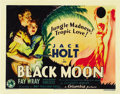 "Movie Posters:Horror, Black Moon (Columbia, 1934). Title Lobby Card (11"" X 14""). ..."