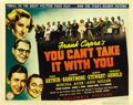 "Movie Posters:Comedy, You Can't Take It With You (Columbia, 1938). Title Lobby Card (11""X 14""). ..."