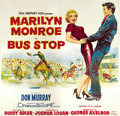 "Movie Posters:Drama, Bus Stop (20th Century Fox, 1956). Six Sheet (81"" X 81"")...."