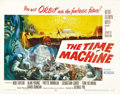 "Movie Posters:Science Fiction, The Time Machine (MGM, 1960). Half Sheet (22"" X 28"") Style B. ..."