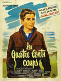 "Movie Posters:Foreign, The 400 Blows (Cocinor, 1959). French Grande (47"" X 63""). ..."
