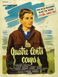 "The 400 Blows (Cocinor, 1959). French Grande (47"" X 63"")"