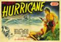"Movie Posters:Drama, Hurricane (United Artists, 1937). French Double Grande (63"" X 93"")...."