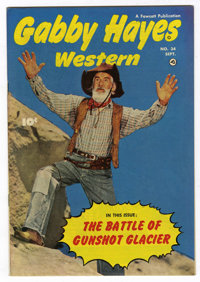 Gabby Hayes Western #34 Mile High pedigree (Fawcett, 1951) Condition: NM-