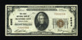 National Bank Notes:Pennsylvania, Trafford City, PA - $20 1929 Ty. 1 The First NB Ch. # 6962. ...