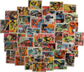 Memorabilia:Trading Cards, Batman Trading Cards, Second Series Complete Set (Topps, 1966)....
