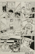Original Comic Art:Panel Pages, Jeffrey Butler - The Green Hornet #2, page 14 Original Art (Now Comics, 1990)....