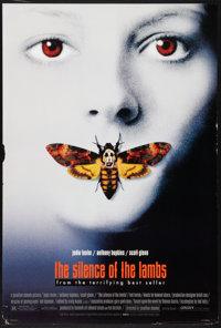 """The Silence of the Lambs (Orion, 1990). One Sheets (3) (27"""" X 40"""") DS and DS Regular, DS Advance Style B, and..."""