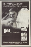"Movie Posters:Mystery, Nude in a White Car (Trans Lux, 1960). One Sheet (27"" X 41"").Mystery.. ..."