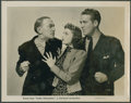 "Movie Posters:Crime, Inside Information (Universal, 1939). Photos (2) (8"" X 10""). Crime.. ... (Total: 2 Items)"