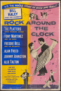 """Movie Posters:Rock and Roll, Rock Around the Clock (Columbia, 1956). Poster (40"""" X 60""""). Rockand Roll.. ..."""