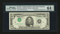 Error Notes:Inverted Third Printings, Fr. 1974-L $5 1977 Federal Reserve Note. PMG Choice Uncirculated 64EPQ.. ...