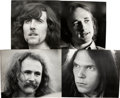 Music Memorabilia:Photos, Crosby, Stills, Nash & Young Photos by Henry Diltz.... (Total:4 )