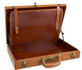 Movie/TV Memorabilia:Memorabilia, Glenn Ford's Monogrammed Briefcase....