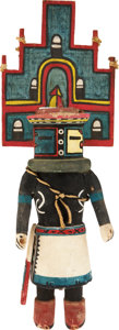 American Indian Art:Kachina Dolls, A HOPI COTTONWOOD KACHINA DOLL. c. 1950. ...