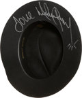 Music Memorabilia:Autographs and Signed Items, Michael Jackson Signed Hat....